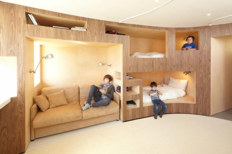 Mobiliario diseño empotrado para optimizar el espacio