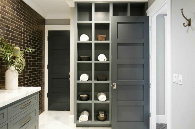 mobiliario diseño sistemas ladrillos descubiertos