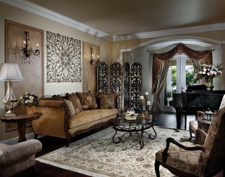 moderlo victoriano esquina salon alfombras