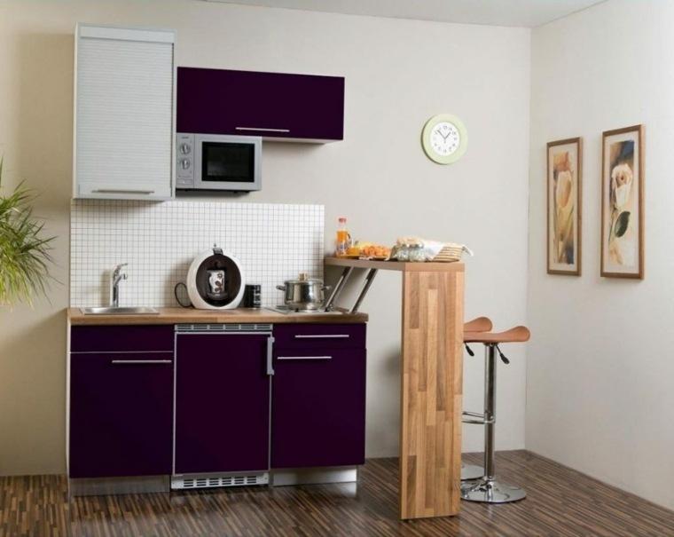 mini cocina estilo minimalista