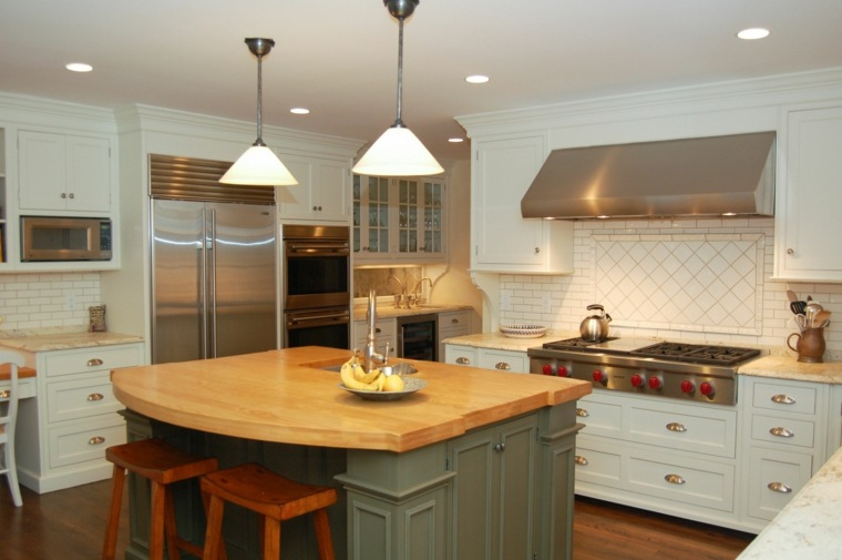 conjunto muebles cocina estilo vintage