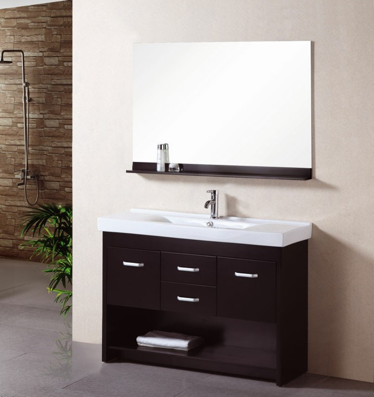 Muebles de bao con lavabo sobre encimera stunning lavabo - Muebles para lavabos sobre encimera ...