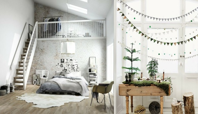 Estilo escandinavo con elementos bohemios para el interior - Muebles estilo escandinavo ...