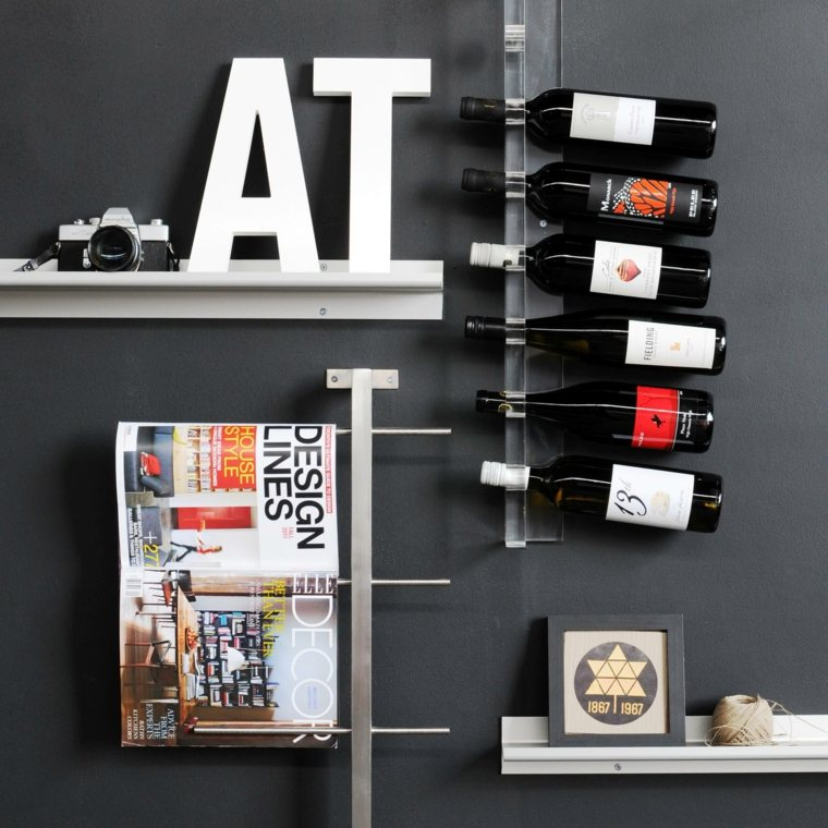 Muebles para vino para decorar el interior y conservarlo for Muebles de cocina vibbo