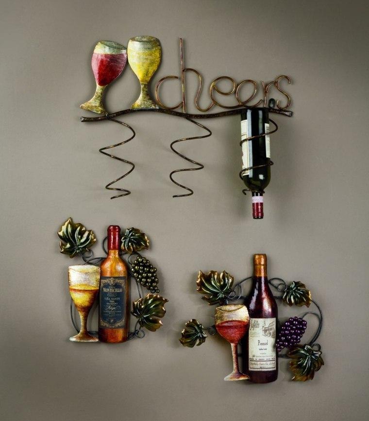 Muebles para vino para decorar el interior y conservarlo -