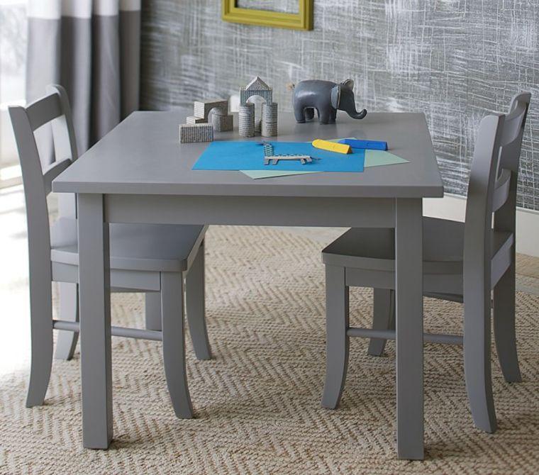 muebles comedor sencillos color gris