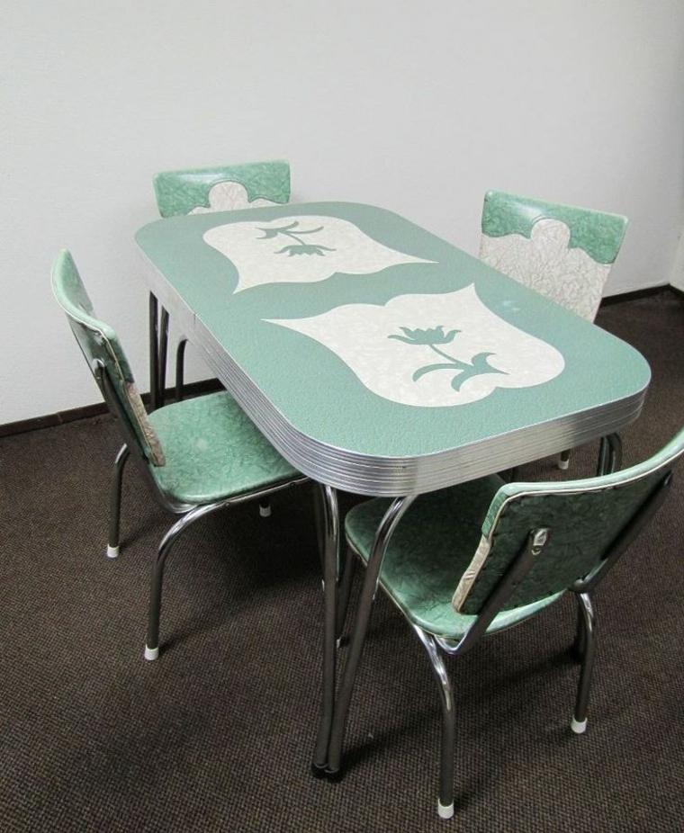 muebles comedor sencillos estilo retro