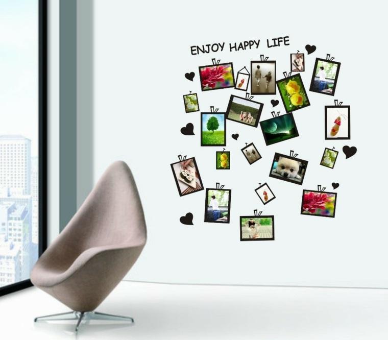 mural de fotos para la decoraci n de los interiores. Black Bedroom Furniture Sets. Home Design Ideas