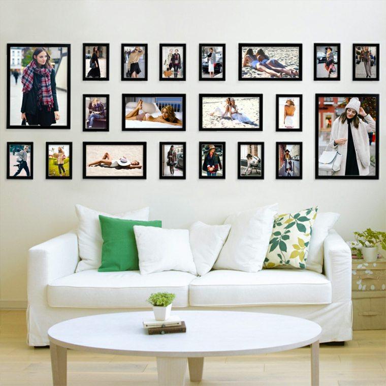 Mural de fotos para la decoracin de los interiores