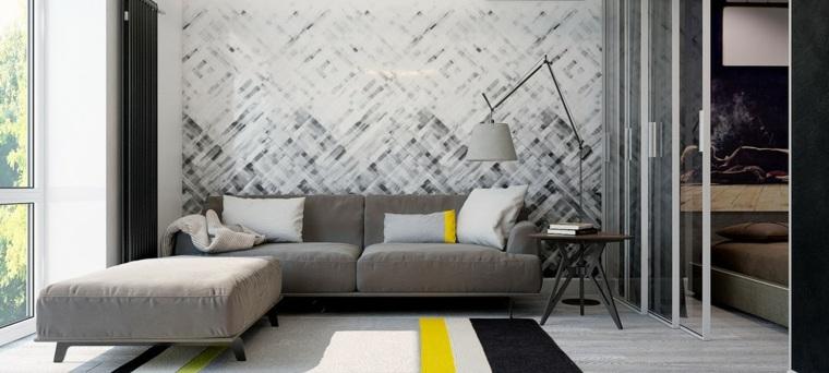 negro amarillo alfombras casas elementos