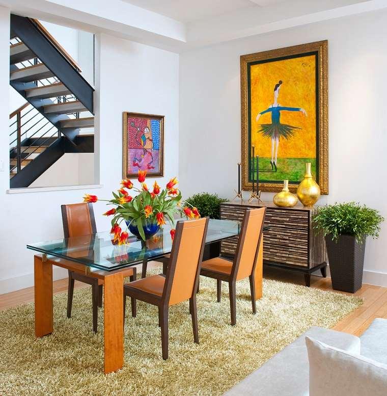 opciones decorar salon diseno clasico cuadros ideas