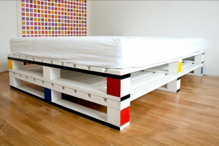 origina cama moderna palet