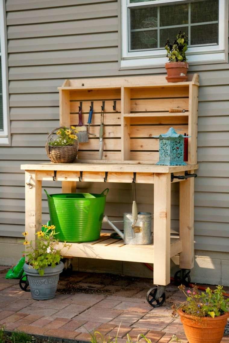 Europalet 42 ideas estupendas para muebles diy for Auxiliar jardineria