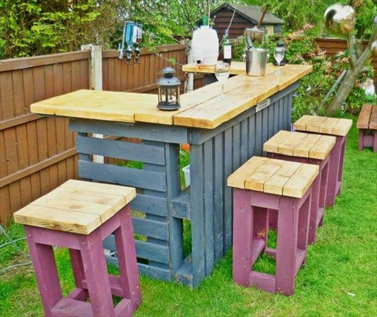 original bar jardin palets