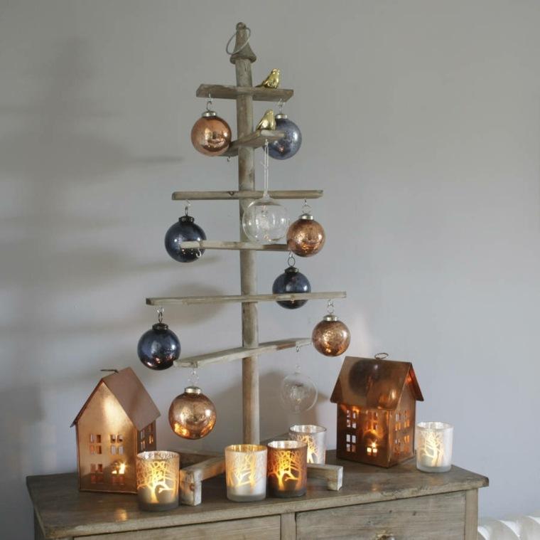 original diseño abeto navidad minimalista