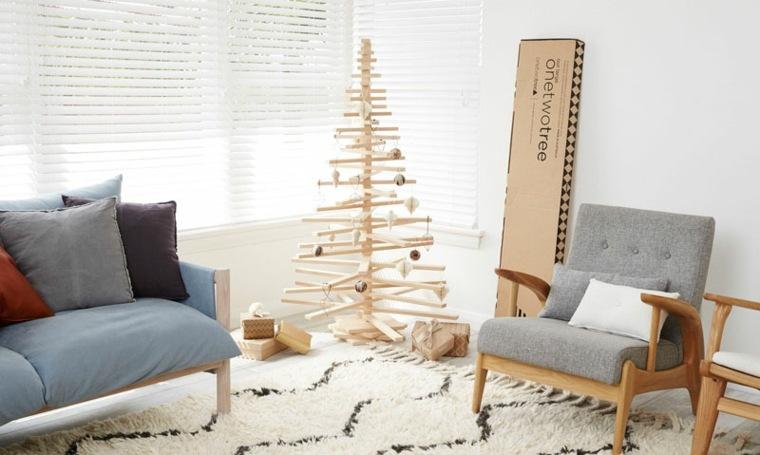 original árbol Navidad madera