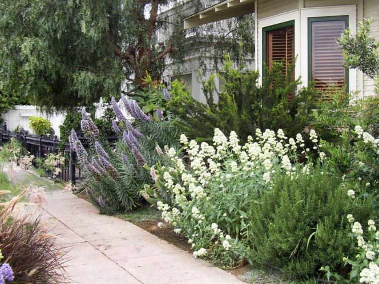 original diseño flores paisaje