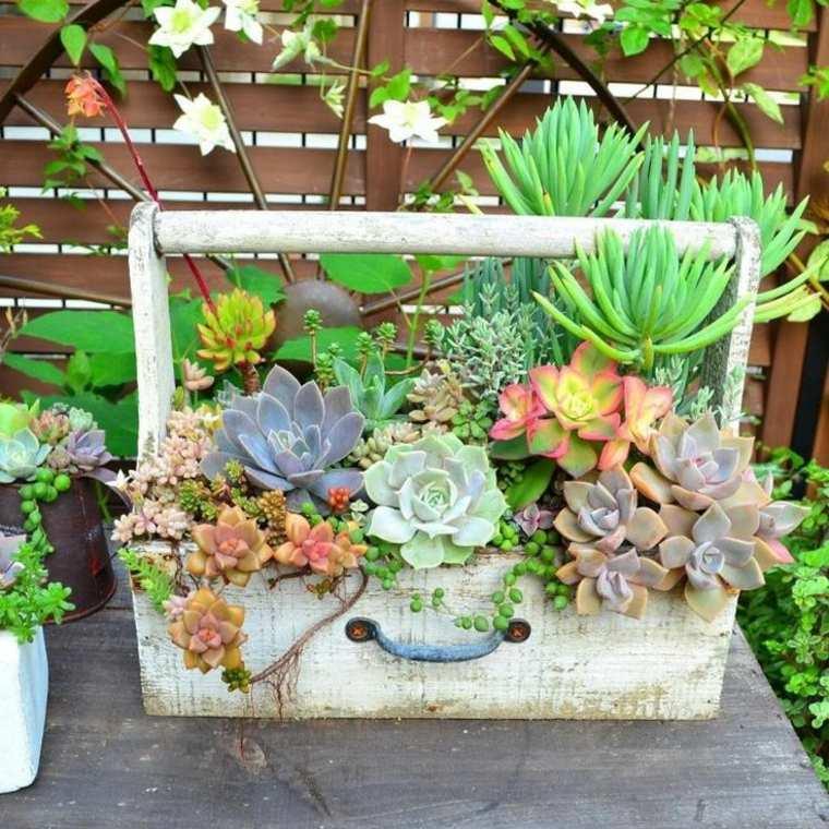 original maletin retro plantas