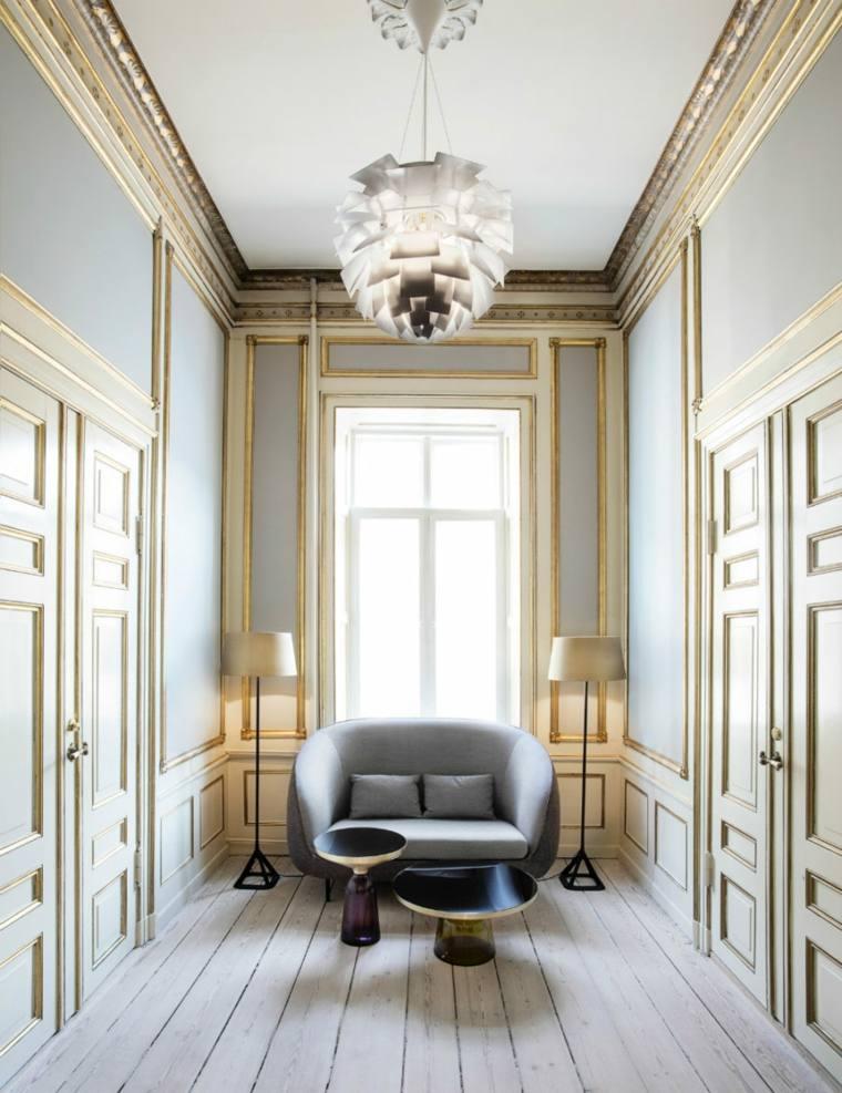 original diseño pasillo sillon moderno