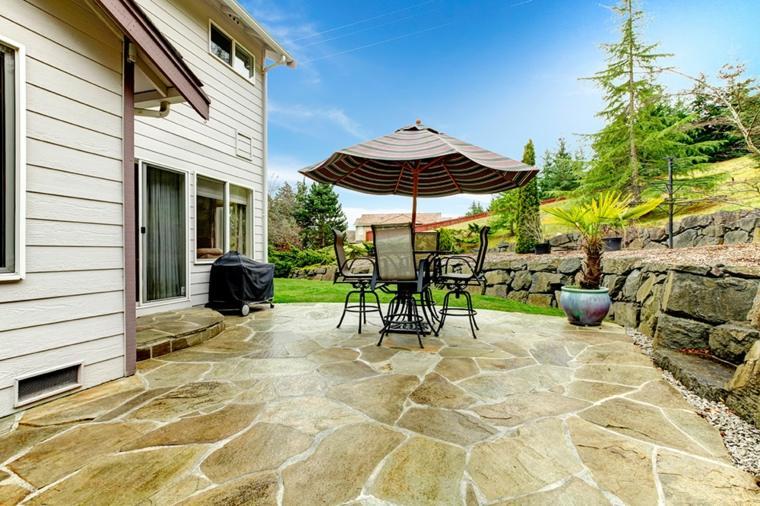 original diseño patio jardin terrazas