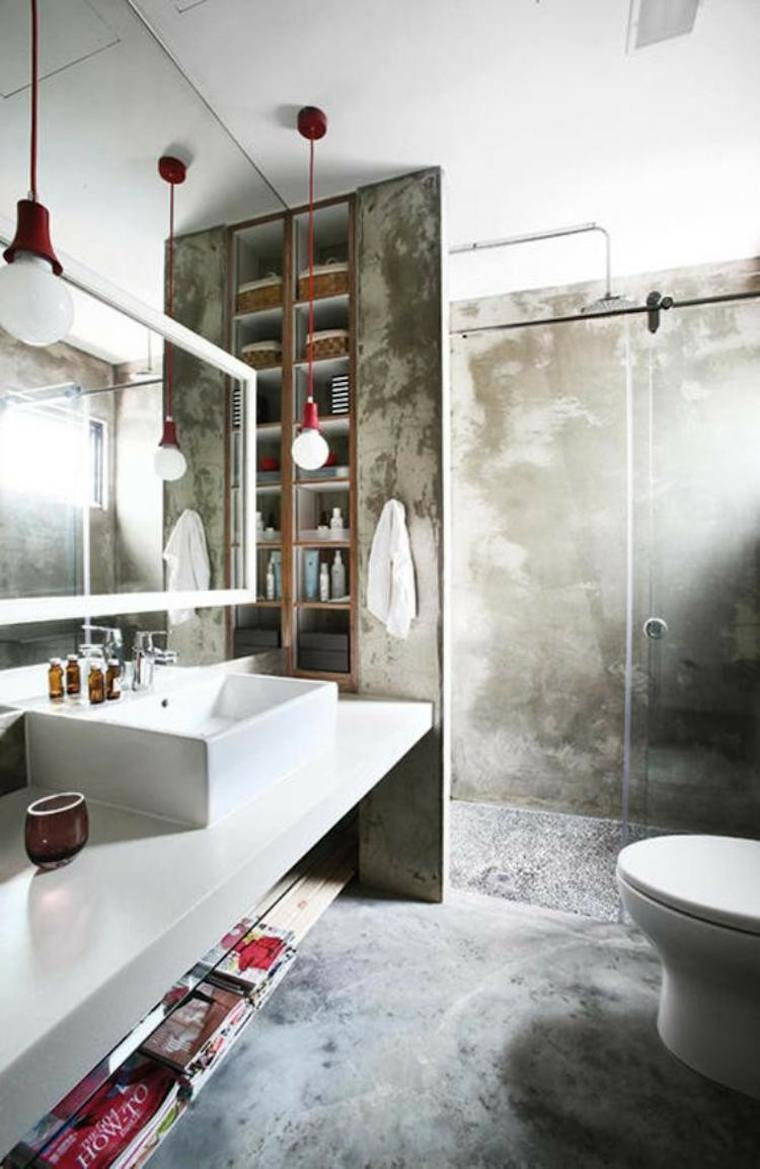 original diseño cuarto de baño cemento