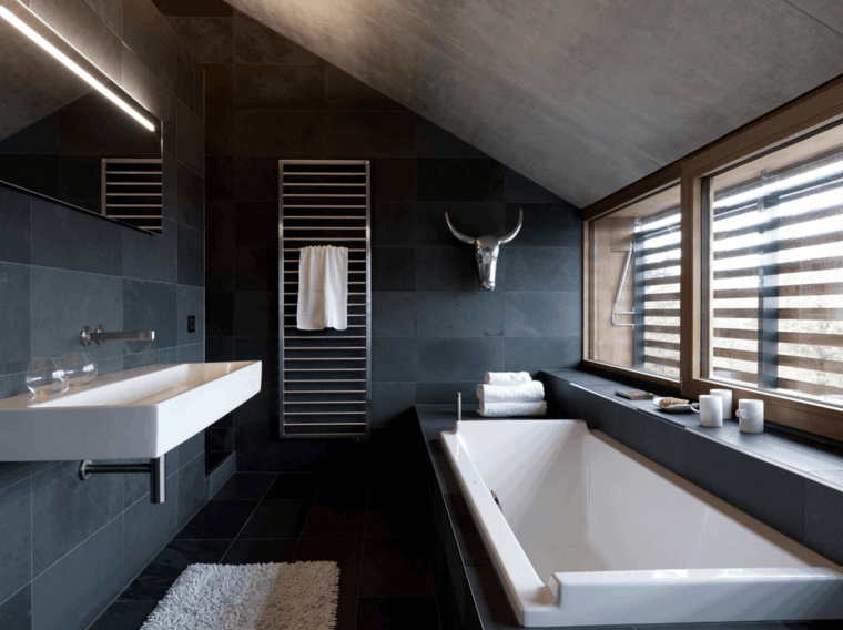 original baño estilo moderno