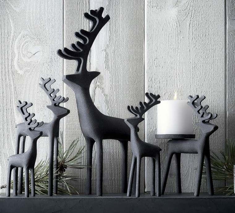 original conjunto renos navideños
