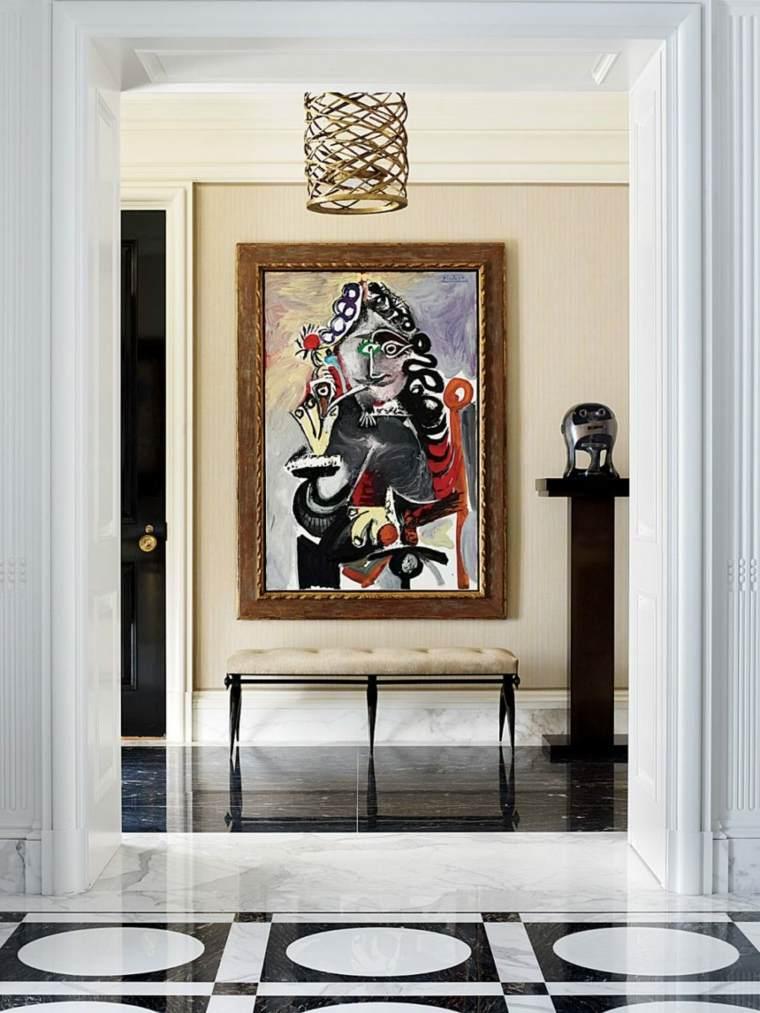 original decoracion pasillos cuadro