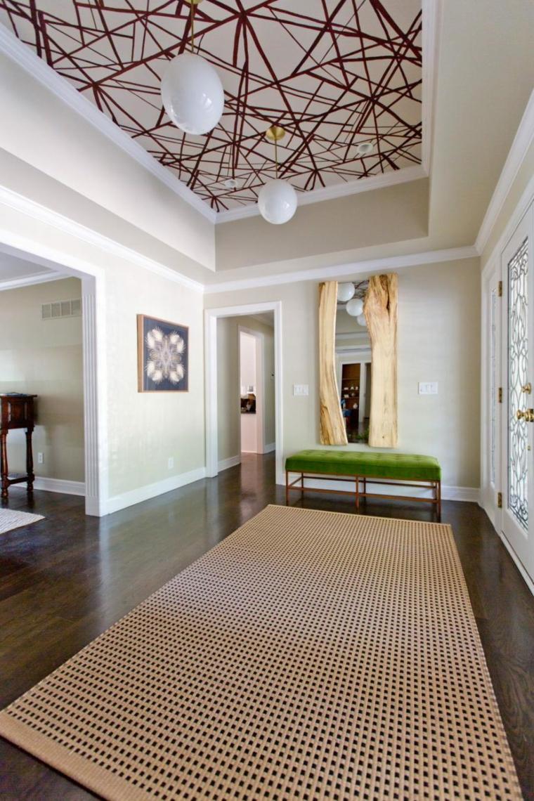 Decoracion pasillos ideas para un efecto dram tico - Decoracion pasillos y recibidores ...