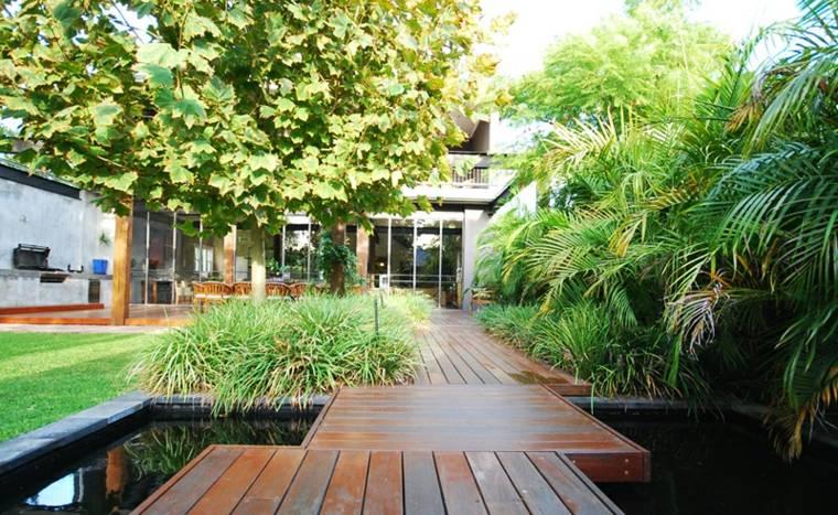 original diseño jardin estanque