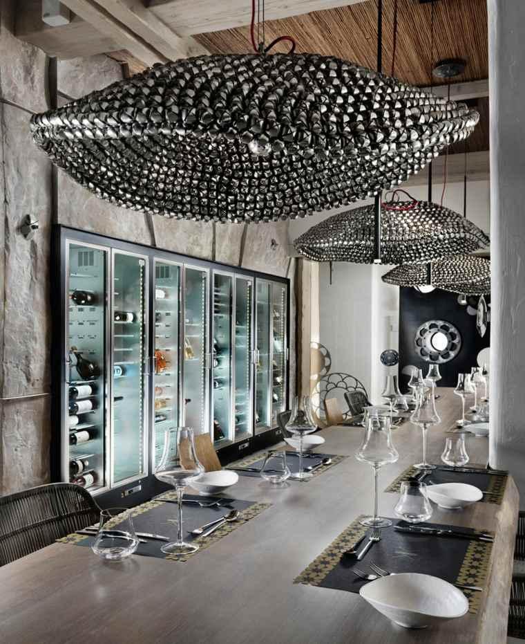 original diseño restaurante mesa