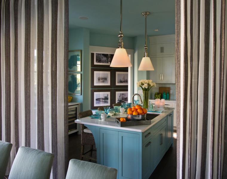 cortinas interiores separar ambientes