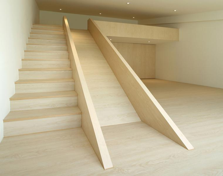 original escalera con tobogán