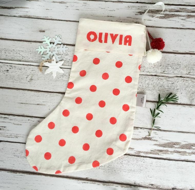 original media de Navidad lunares