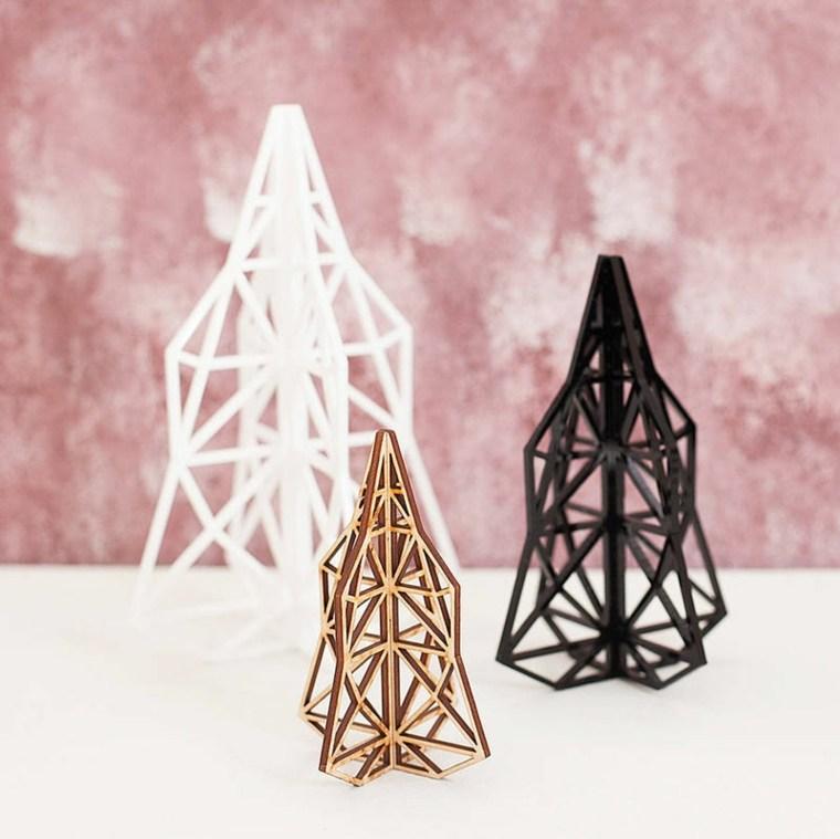 originales abetos formas geometricas