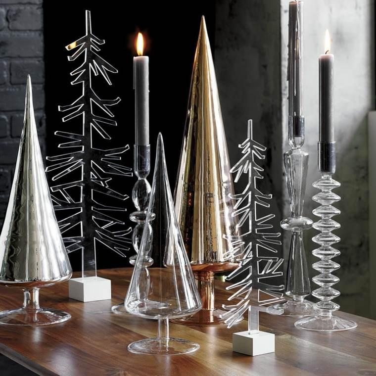 originales adornos navidenos cristal