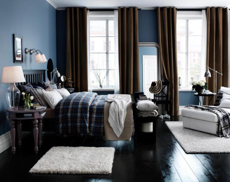 Cortinas Decoracion Para Salones Y Dormitorios 24 Ideas - Cortinas-en-habitaciones