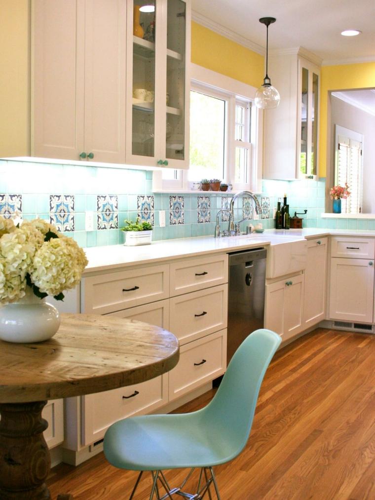Dise os de salpicaderos de cocina modernos 34 ideas - Azulejos originales ...