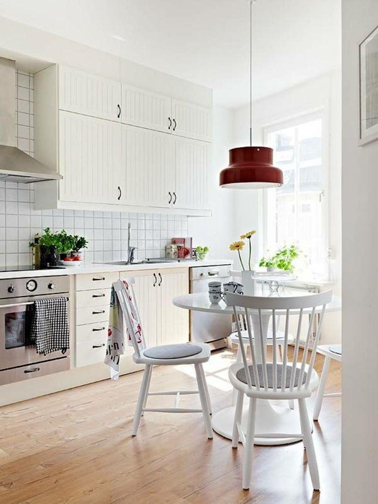 originales diseños cocinas pequenas