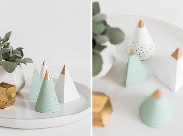 originales figuritas decoracion navideña