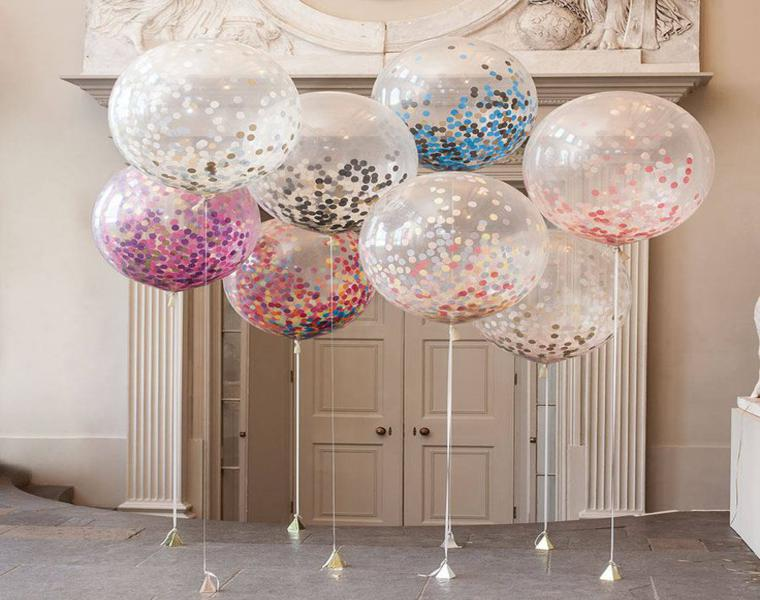 Adornos con globos ideas geniales para decorar una fiesta for Adornos de decoracion modernos