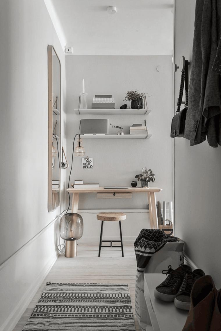original diseño pasillo estudio
