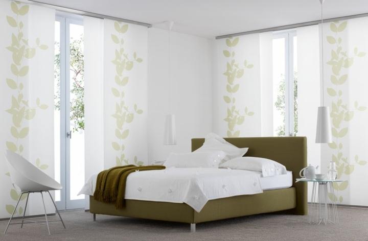 paneles japoneses dormitorios luz salas