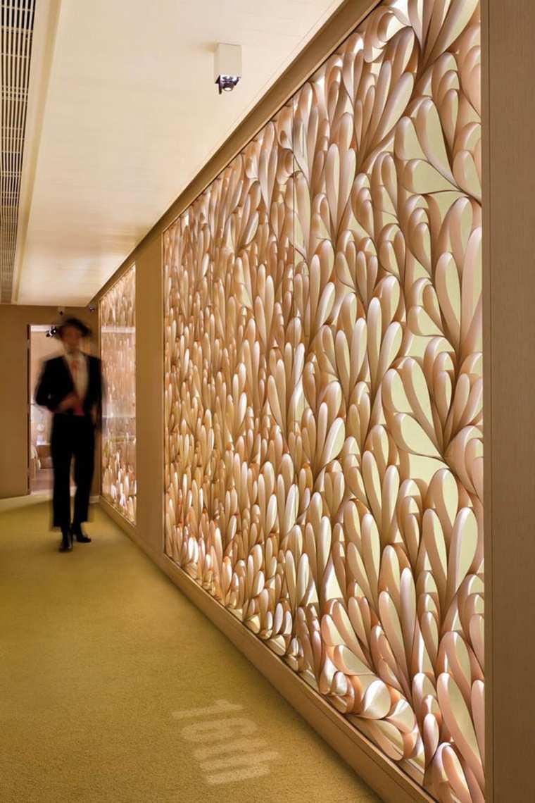 pasillos decorados