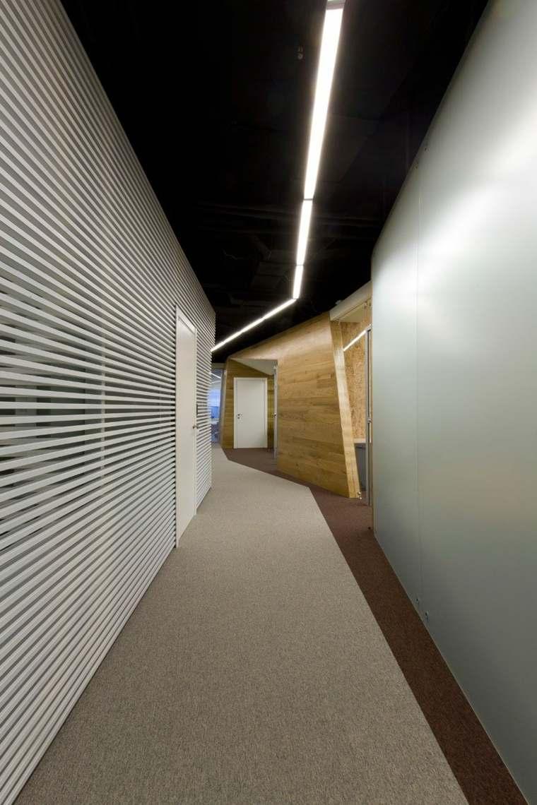 pasillos pintados decoración interior