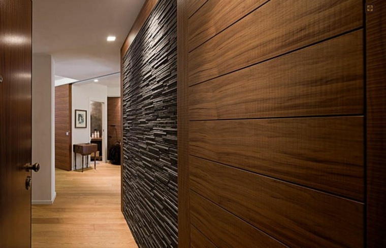 pasillos pintados decoración interiores