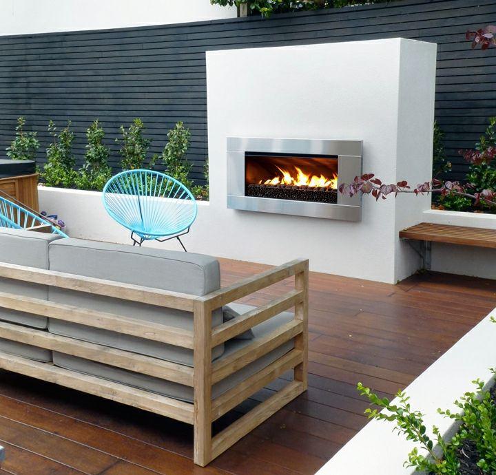 patio estilo conceptos plantas cuerdas