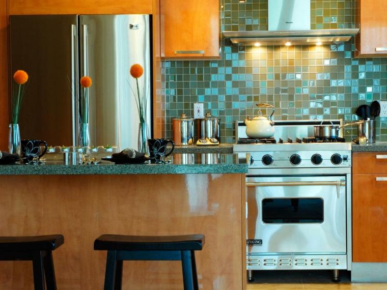 Pintar azulejos cocina para decorar vuestros interiores - Pintar la cocina ...