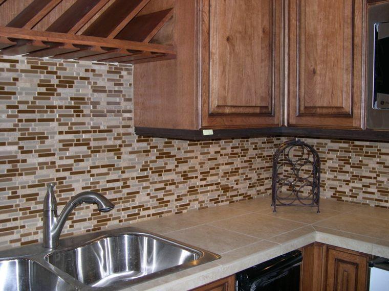Pintar azulejos cocina para decorar vuestros interiores - Losas para cocina ...