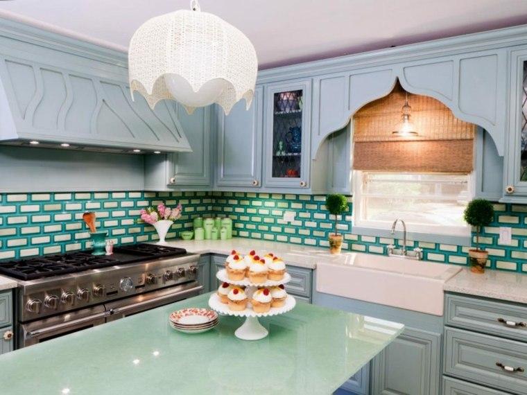 Pintar azulejos cocina para decorar vuestros interiores - Azulejos decorativos para cocina ...